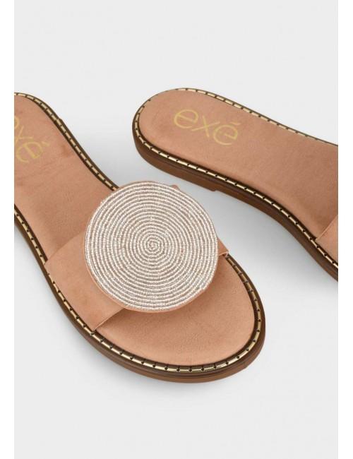 Γυναικείο παπούτσι flat EXE M47009531417  οικολογικό δέρμα  ΚΑΜΗΛΟΕ